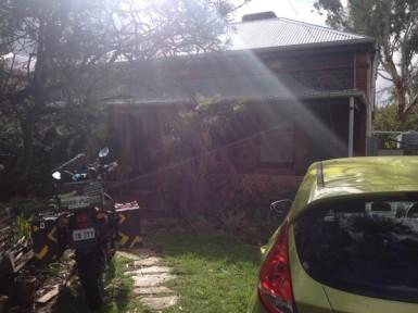 Tropp's house in Adelaide