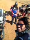 So, i met few fellow on the way, riding big bikes...950cc upwards. they were surprised by my moving castle Rajdooth!...ofcourse, im doing in tiny weeny 250cc!....go Rajdooth!